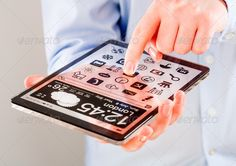 Tablet with transparent screen in human hands. ...  abstract, background, blank, business, button, clear, communication, computer, concept, connection, contact, creative, design, device, digital, display, electronic, fashion, frame, future, futuristic, gadget, glass, hand, icons, ideas, innovation, internet, logo, mobile, modern, new, office, pad, pattern, person, phablet, screen, smart, smartped, tablet, tech, technology, telephone, touch, touchscreen, transparent, unusual, web