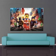Lego Movie Cracked Wall Effect Decal Sticker Decor By PrintaDream | Bryce  Bedroom Ideas | Pinterest | Cracked Wall And Lego Movie