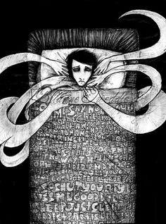 Perchance to dream. The dangers of sleep deprivation - Brainspongeblog.com Depression Art, Surreal Artwork, Surrealism Painting, Music Aesthetic, Sad Art, High Art, Sleep Deprivation, Best Artist, Art Therapy