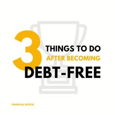 Congratulations, you're now debt-free! What's next? 1. Get serious about getting an emergency fund. It'll help you to prevent future debts. 2. Save extra money for a major purchase like house, car or education. There is always something you've dreamt of to buy but couldn't. Now it's the best time! 3. Start saving for retirement - no matter how old you are. Earlier you'll start more you'll save. Financial Tips, Financial Literacy, Saving For Retirement, Debt Free, Extra Money, Things To Do, Finance, Congratulations, Letters