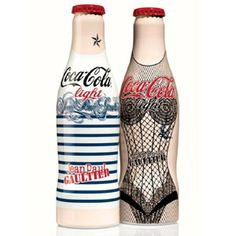Jean Paul Gaultier. New glamour  for diet Coke.  http://pinterest.com/martablasco/