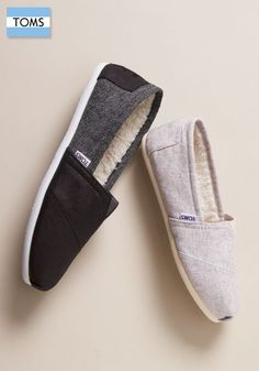 Slip on a pair of TOMS Classics that not only look great but give back, too.