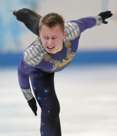 DAY 8:  Alexander Majorov of Sweden competes during the Figure Skating Men's Free Skate http://sports.yahoo.com/olympics