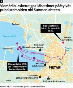 Pietarilaiset aktivistit huuhtoivat lähettimiä vessasta: jätevedet valuvat suoraan Suomenlahteen - Itämeri - Ulkomaat - Helsingin Sanomat