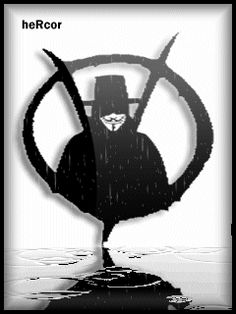 Animación v for vendetta logo g hc para celular