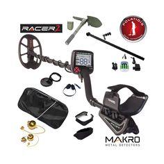 Το νέο μοντέλο MAKRO Racer 2 ανιχνευτής μετάλλων βασισμένο στην τεχνολογία Racer. Ενισχυμένο με όλα τα χαρακτηριστικά που χρειάζονται οι χρήστες για την εύρεση νομισμάτων , κειμηλίων και κοσμημάτων.