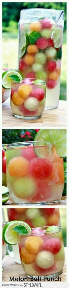 This stuff is what summertime is made of! Fizzy, lightly sweetened and full of melon flavor! This stuff is what summertime is made of! Fizzy, lightly sweetened and full of melon flavor! Party Drinks, Fun Drinks, Healthy Drinks, Healthy Snacks, Healthy Eating, Healthy Recipes, Cocktails, Detox Drinks, Birthday Drinks