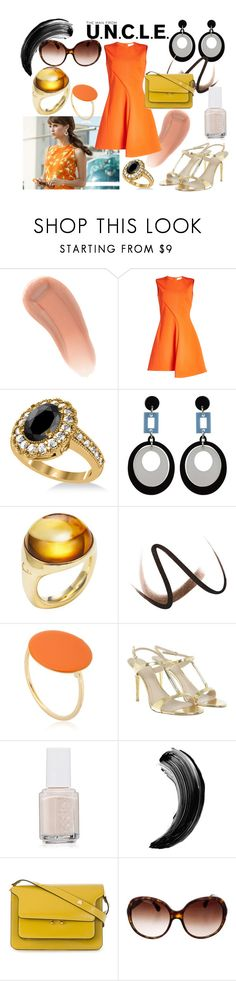 """""""Gaby Style"""" by rapunzel-ii ❤ liked on Polyvore featuring NARS Cosmetics, Victoria Beckham, Allurez, Pomellato, Burberry, Isabel Marant, Alexander McQueen, Essie, Marni and Chanel"""