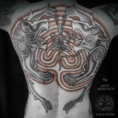 Uffe Berenth Tattoo from Danmark