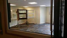 Showroom flooring renovation
