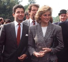 Princess Diana's former private secretary Patrick Jephson (left) has decided that the time is right to berate the Royal Family for a failure to treat her with the humanity and respect she deserved