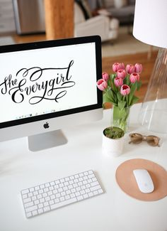 The Everygirl & The Everymom Are Hiring! Cute Desk Decor, Career Inspiration, Join Our Team, Work Desk, New Face, Creative, Notting Hill, Studying, Studio
