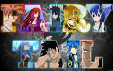 fairy tail personages
