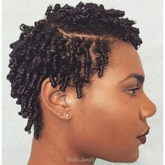 Finger coils with dramatic part. We recommend using Fabulocs Intense Moisture T. Finger coils with Finger Coils Natural Hair, Coiling Natural Hair, Natural Hair Cuts, Natural Hair Twists, Natural Hair Regimen, Natural Hair Styles, Short Hair Twist Styles, Curly Hair Styles, Twist Hair