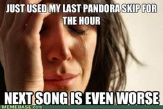this seriously JUST happened to me....
