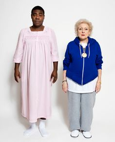 Betty White and Tracy Morgan just being themselves.
