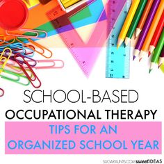 School Based OT and