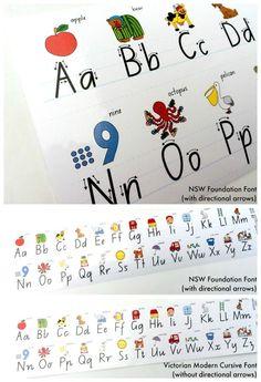 Alphabet Desk Strips - Adhesive