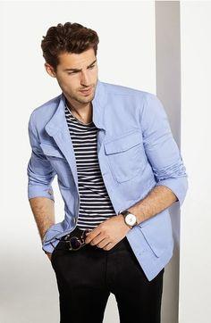 Men's casual style | Massimo Dutti S/S 2014 | Antonio Navas