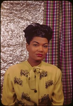 """Pearl Bailey photographed by Carl Van Vechten in 1946 Ms. Bailey earned a B.A. in Theology from Georgetown University in 1985 at the age of 67? Initially, she majored in French, but she switched to theology """"Because it's easier to know the Lord than it is to know French."""" Photo: Beinecke Rare Book and Manuscript Library"""