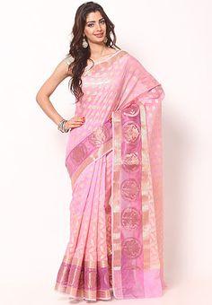pink saree - Google Search