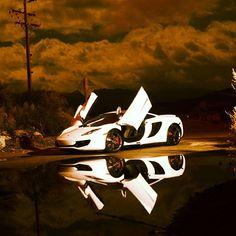 """After the rain"" McLaren MP4 12C"