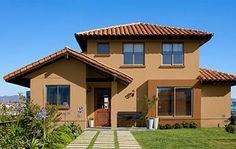 Casa 12 plano de atractiva y contempor nea casa de 110 m2 - Ideas como pintar mi casa ...