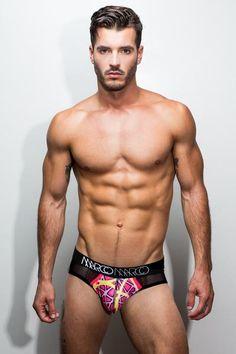 Neon Red Brief | Marco Marco Underwear