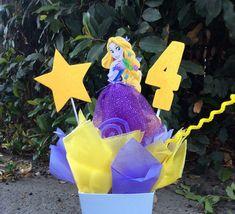 Princess Rapunzel Birthday CenterPiece by FantastikCreations