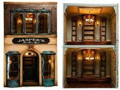Miniatures by June Clinkscales Dollhouse Furniture | Jasper's Mens Shop
