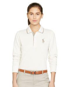 Tailored Golf-Fit Polo Shirt - Ralph Lauren Golf Polo Shirts - RalphLauren.com