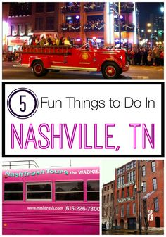 5 Fun Things to Do in Nashville. This is really unique list of hilarious things to do. Nashville Things To Do, Weekend In Nashville, Nashville Vacation, Visit Nashville, Tennessee Vacation, Nashville Tennessee, Girls Trip Nashville, East Tennessee, Nashville Tours