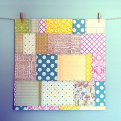 Make Your Own Paper from Scraps at http://obstinatepursuit.blogspot.com/2011/11/scrapbook-paper-from-scraps.html