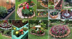 6 Εύκολοι τρόποι για να διαμορφώσετε Παρτέρια Garden Art, Party, How To Make, Parties, Yard Art