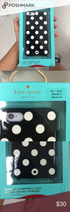 Kate Spade iPhone 6 Polka Dot Hardshell Case BNWT. Price firm. No trades. kate spade Accessories Phone Cases