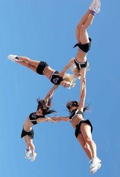 amazing flying, cheerleading, cheer, cheerleader (From Cheerleading board)