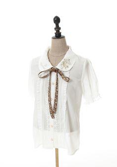 axes femme online shop|刺繍半袖ブラウス