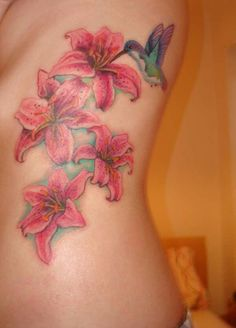 I would just want the one flower with bird and have Hannah n Hallie's name on a petal