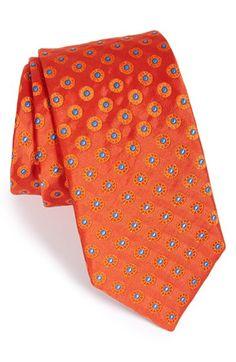 Ted Baker London 'Circle Spokes' Silk Tie