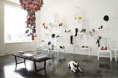An Alice and Wonderland inspired boutique