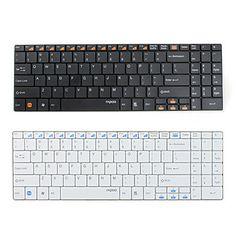 Rapoo E9070 USB Wireless Ultra-Slim 99-Key Keyboard (Assorted Colors) – USD $ 28.59