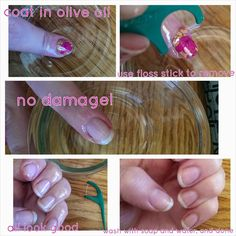 Mommy+Me Jamming On!: No Damage Jam Removal Jamberry Nails