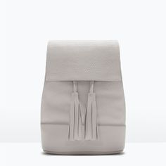 BUCKET BACKPACK WITH TASSEL-Woman-NEW THIS WEEK | ZARA United States