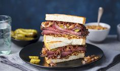 If you don't live near an iconic Jewish deli, there's still plenty of ways you can enjoy those signature menu . Kimchi, Quebec, Queso Edam, Sandwiches, Good Enough To Eat, Deli, Great Recipes, Canning, How To Make