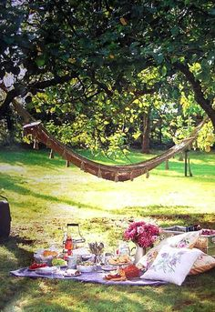 A beautiful day for a picnic..............