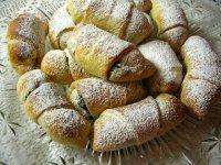 Bratislavské rožky European Dishes, Baked Potato, Sweets, Bread, Homemade, Ethnic Recipes, Pizza, Food, Drink