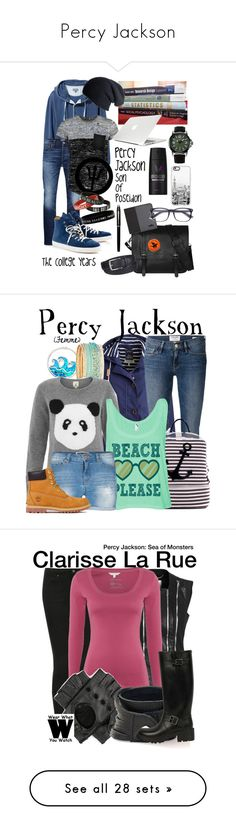 """""""Percy Jackson"""" by luxaeeterna ❤ liked on Polyvore featuring L.L.Bean, Jack & Jones, Sterling & Pelle, Hogan, EyeBuyDirect.com, Casetify, Columbia, Boohoo, Black and Moshi"""