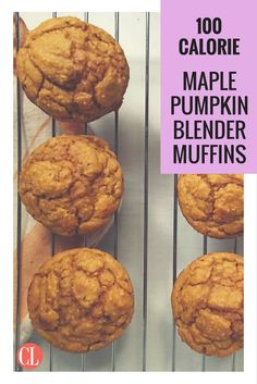 Gluten-free, completely clean, and less than 100 calories per muffin.   Cooking Light