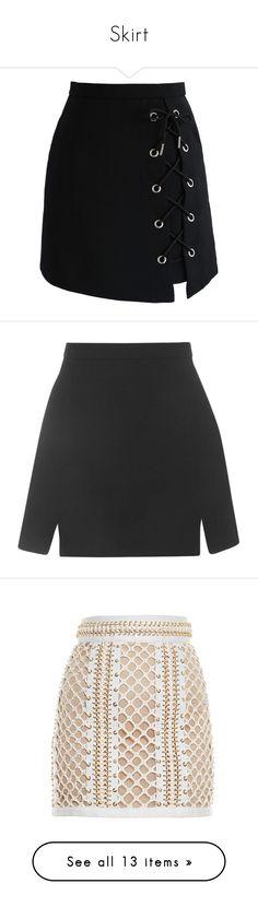 """Skirt"" by nathalie9500 ❤ liked on Polyvore featuring skirts, mini skirts, bottoms, saias, black, mini skirt, tie-dye skirt, chicwish skirt, short mini skirts and short skirts"