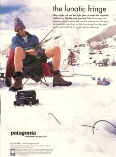 Image result for vintage patagonia ad campaign